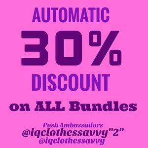 Other - 30% Automatic Discount on ALL BUNDLES!